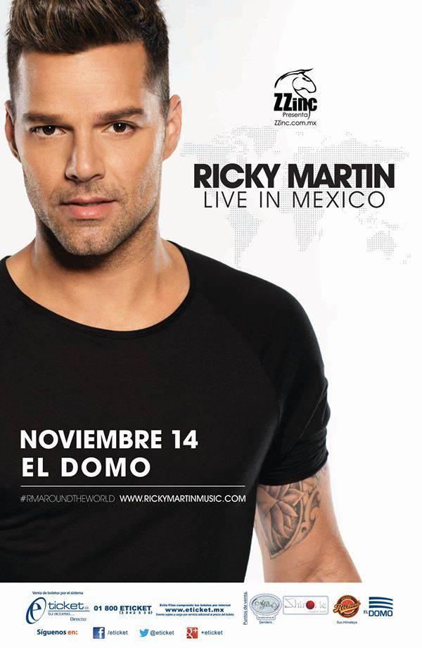Ricky Martín en San Luis Potosí