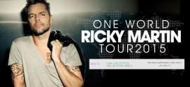 Ricky Martin se presentará en San Luis Potosí