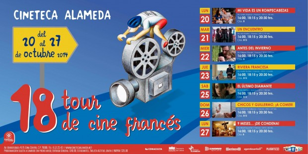 18 Tour de Cine Frances
