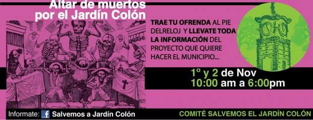Altar de muertos por el Jardín Colón @ Jardín Colón | San Luis Potosí | San Luis Potosí | México