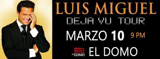 Luis Miguel en San Luis Potosí @ El Domo | San Luis Potosí | San Luis Potosí | México