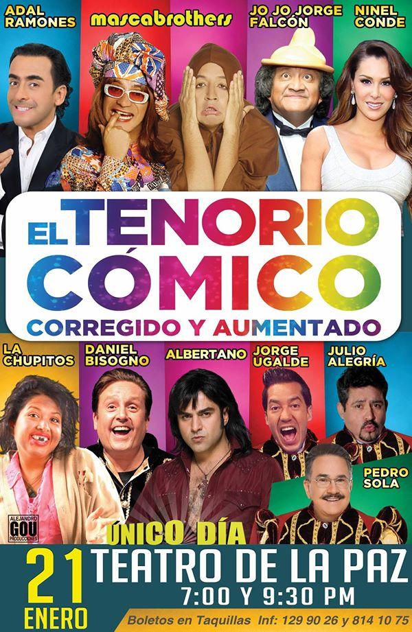 El Tenorio Cómico en San Luis Potosí @ Teatro de la Paz   San Luis Potosí   San Luis Potosí   México