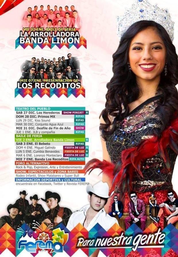 Feria Regional de Matehuala 2015