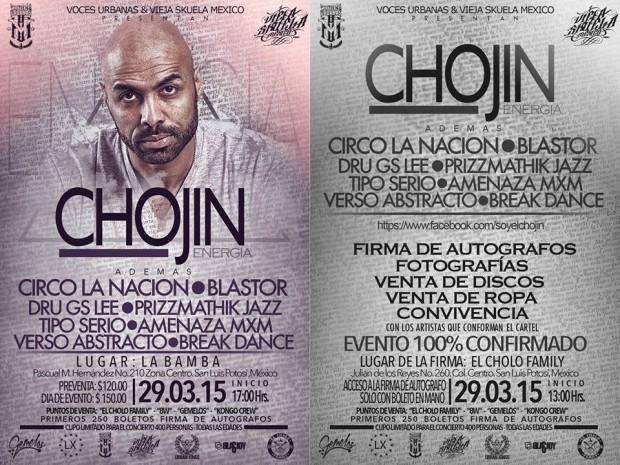 Chojin en San Luis Potosí