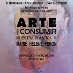 INVITACION de la expo ARTE PARA CONSUMIR