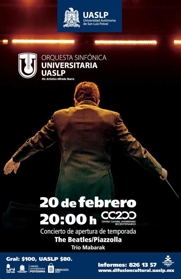 Concierto de la Orquesta Sinfónica Universitaría UASLP @ Centro Cultural Universitario Bicentenario