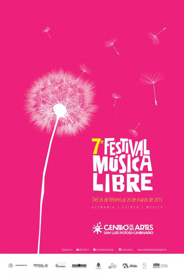 7º Festival Música Libre San Luis Potosí @ Centro de las Artes de San Luis Potosí | San Luis Potosí | San Luis Potosí | México