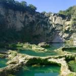 Cascada El Salto sin agua