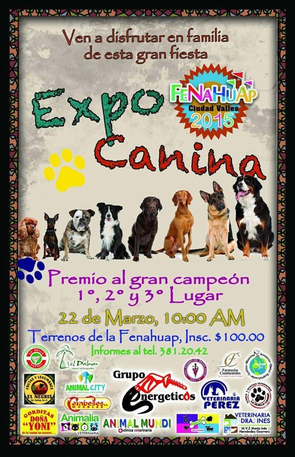 Expo caninca fenahuap 2015
