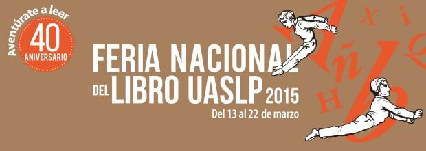 Feria Nacioanl del Libro UASLP 2015