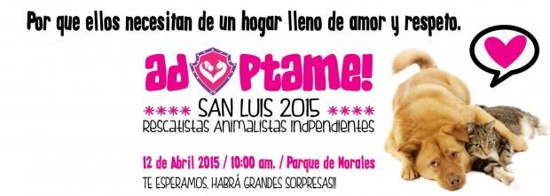 Adoptame San Luis 2015