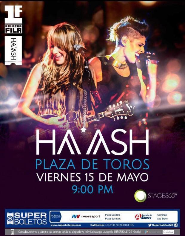 Ha Ash en San Luis Potosí