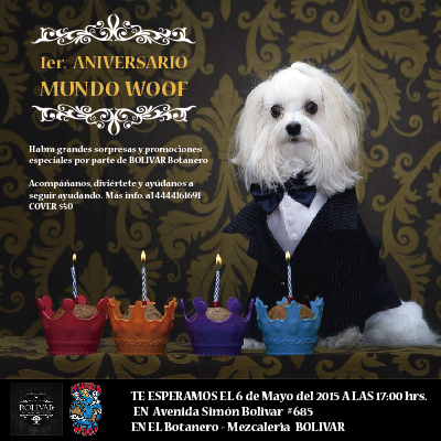 1er Aniversario Mundo Woof