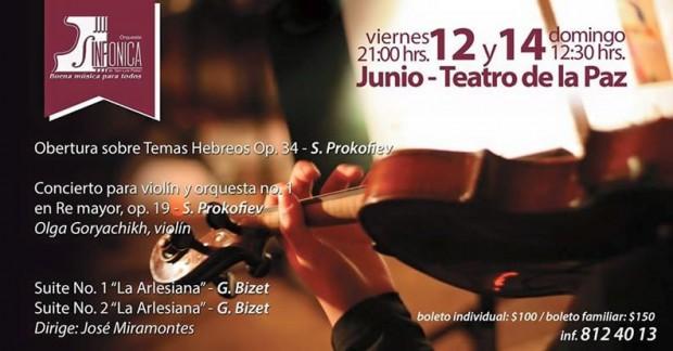Concierto de la OSSLP @ Teatro de la Paz