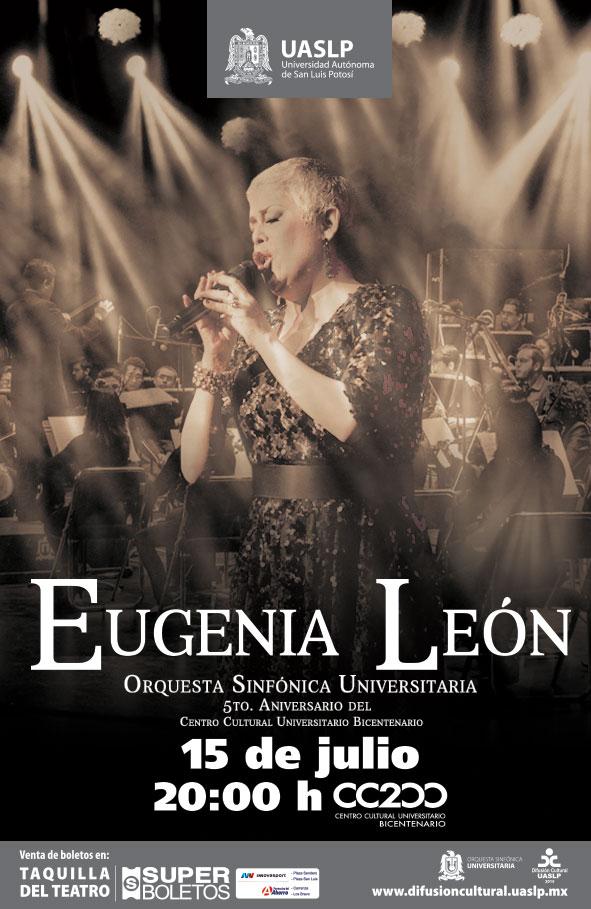 Eugenia León en San Luis Potosí