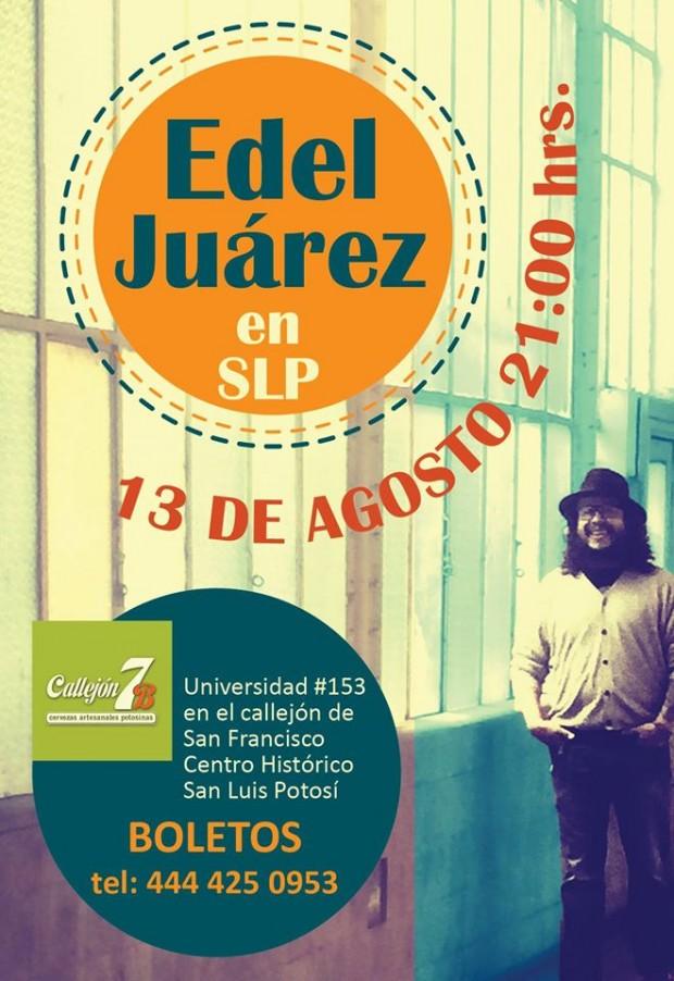 Edel Juárez en San Luis Potosí
