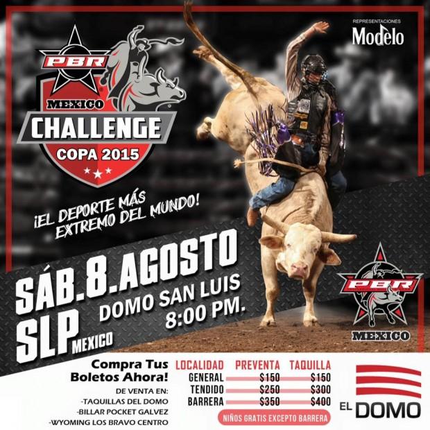 PBR Challenge Tour 2015 San Luis Potosí