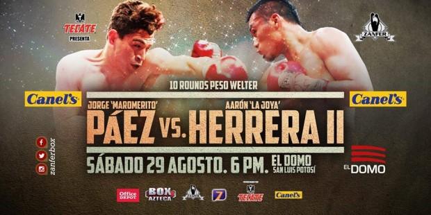 Páez vs Herrera II @ El Domo