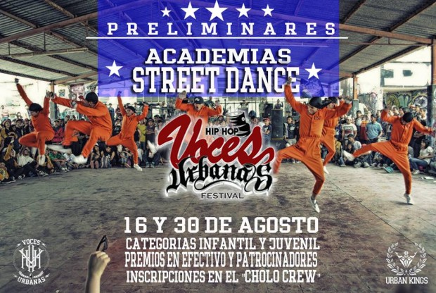 Preliminar Batallas Street Dance Voces Urbanas 2015