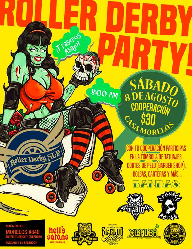 Roller Derby Party