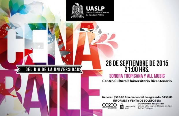 Cena Baile del Día de la Universidad