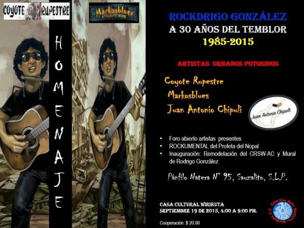 Homenaje a Rockdrigo González