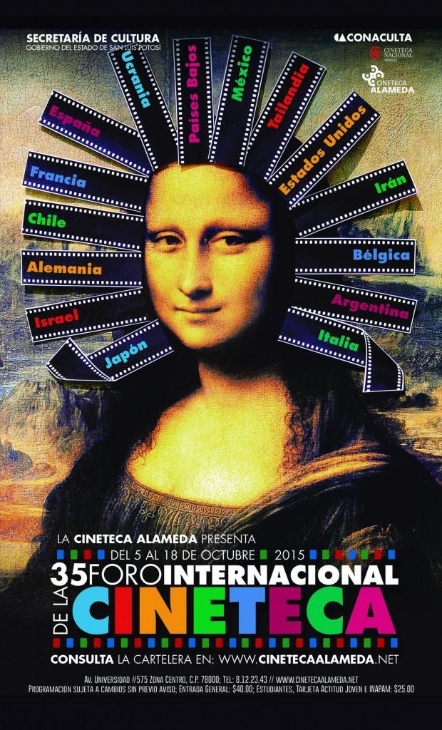 cartel 35 Foro Internacional de la Cineteca en SLP