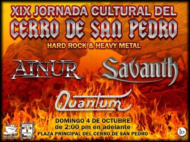 Savanth en Cerro de San Pedro