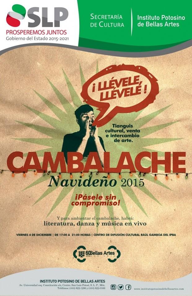 Cambalache 2015 @ Instituto Potosino de Bellas Artes