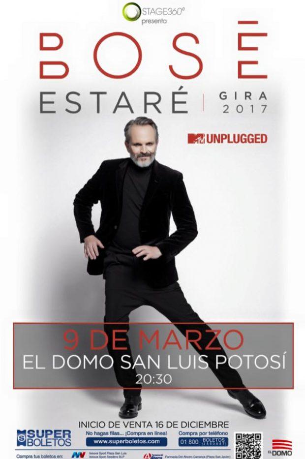 Miguel Bosé en San Luis Potosí @ El Domo | San Luis Potosí | San Luis Potosí | México